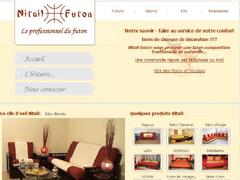 futon haut de gamme et sur mesure nitail futon. Black Bedroom Furniture Sets. Home Design Ideas