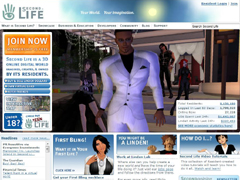 Le Monde Virtuel de Second Life