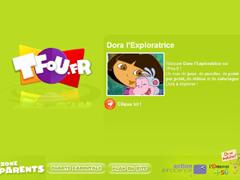 Le site de Dora l'Exploratrice