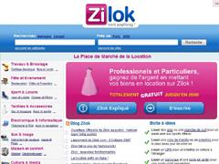 Place de marché de la Location - Zilok