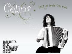 Chanteuse accordeonniste Celina