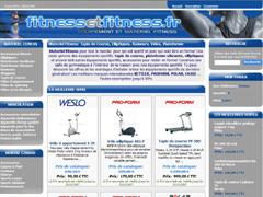 Vente objet fitness en ligne