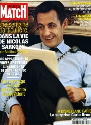 carla bruni et nicolas sarkozy en une de closer et paris match. Black Bedroom Furniture Sets. Home Design Ideas