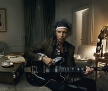 Keith Richards fait une pub Louis Vuitton