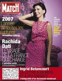 Rachida Dati dans Paris Match