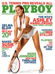 Tenniswoman en couverture de Playboy