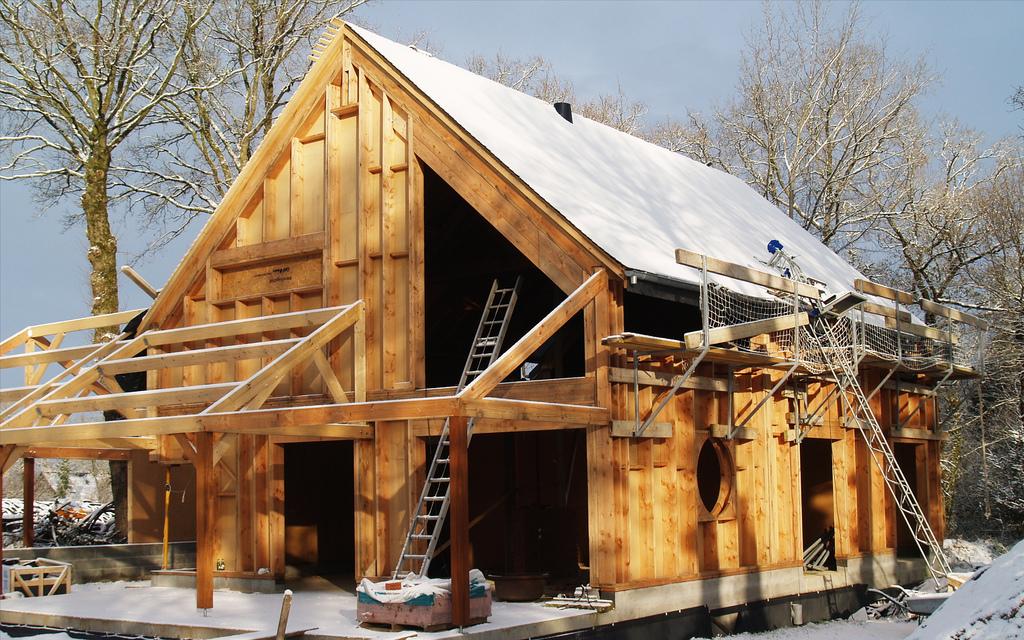 Construire sa maison en respectant l'environnement # Maison Ecologique En Bois