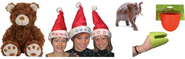 Objets de marché de Noël