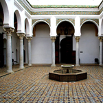 patio d'un riad